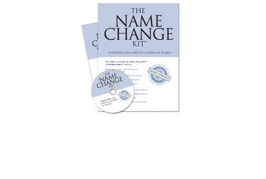 Bride Name Change Kit