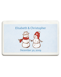 Personalized Boxed Mints - Snow Love