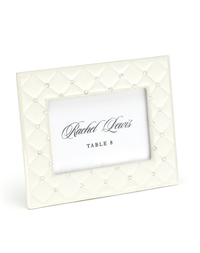 Pearl and Crystal Place Card Frame