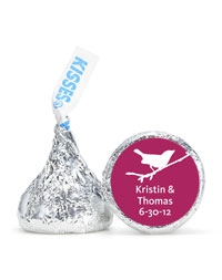 Personalized HERSHEY'S® Kisses - Bird (Punch)