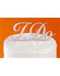 I Do Cake Topper