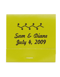 Personalized Matchbooks - Vine