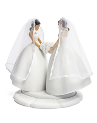 Interchangeable Cake Topper - Bride/Bride