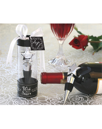 """Wish Upon A Star"" Bottle Stopper Favor"
