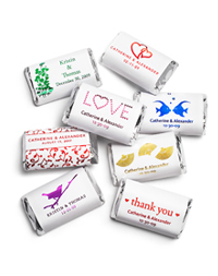 Personalized Metallic HERSHEY'S MINIATURES®  Chocolates