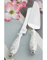 Lenox Bellina Cake Knife and Server Set