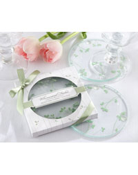 Whimsical Fields Spring Leaf Coasters