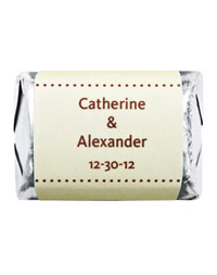 Personalized HERSHEY&apos;S NUGGETS Chocolates - Pin Dot (Yellow)