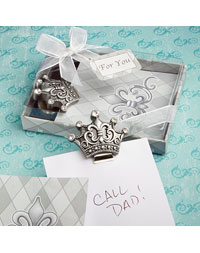 Magnetic Crown Note Pad Favor