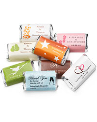 Personalized HERSHEY'S MINIATURES® Chocolates