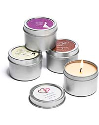 Personalized Soy Candle Favors