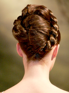 Model rambut rope braids