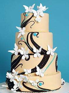 عکس کیک شیک عروسی