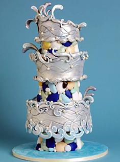 [تصویر: آرشیو عکس کیک عروسی (1)]