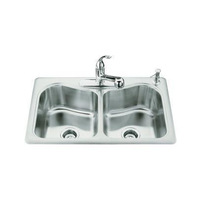 Stainless Double Basins