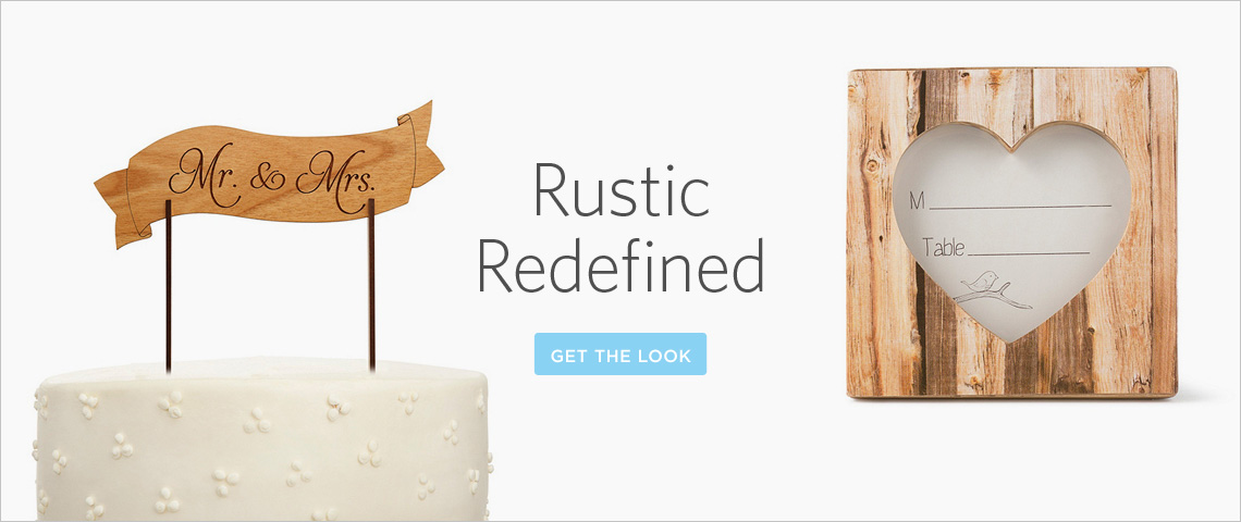 rustic accents