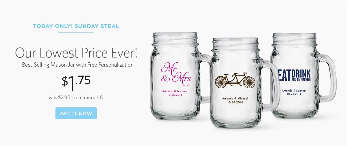 mason jars on sale!