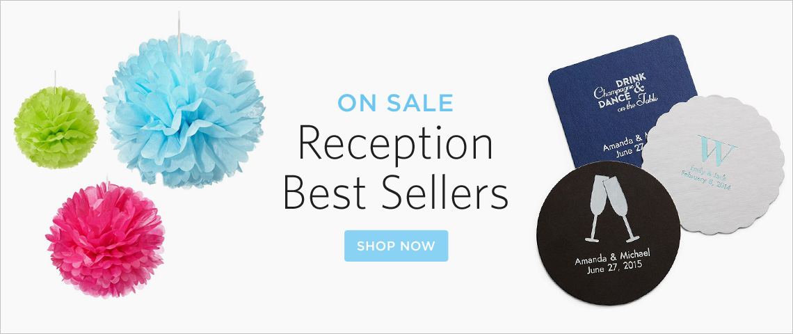top reception items on sale!